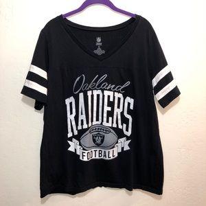 Oakland Raiders NFL Size 2 Plus